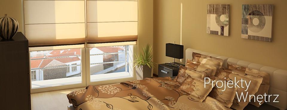 Projekt sypialni Poznań
