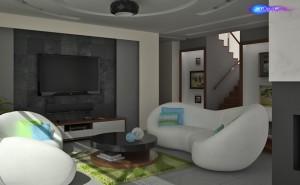 Nowoczesny design. Projekt domu 300m<sup>2</sup>